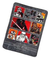 Star Wars Ep7 Battle Front Plush Twin Blanket, 62 x 90