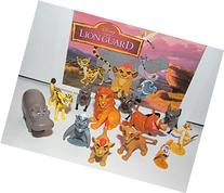 Disney The Lion Guard Deluxe Figure Set of 13 with Prince