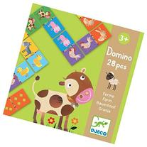 Djeco Domino Puzzle, Farm