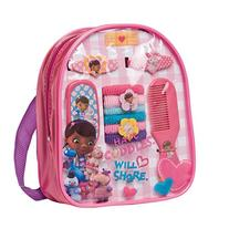 Doc McStuffins Backpack with Assorted Hair Accessories