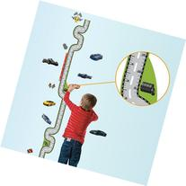 Domire Car Racing Growth Chart Height Chart Wall Decal Decor