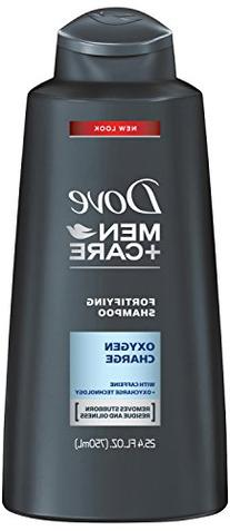 Dove Men+Care Shampoo, Oxygen Charge 25.4 Ounce