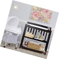 Dream On Me Zoey 3-in-1 Convertible Changing Table, Black