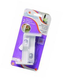 Dreambaby Adhesive Double Locks 2 Pack