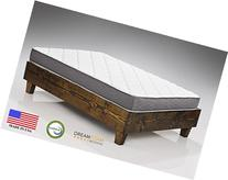 "Spring Dreams 9"" Two-Sided Pocket Coil Mattress Made in USA"
