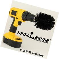 Drill Brush Cordless Drill Power Scrubber in Black