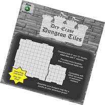 Dry Erase 5 inch and 10 inch Dungeon Tiles - Combo pack of