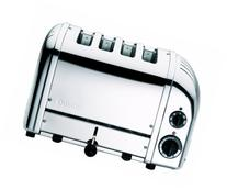 Dualit 4-Slice Toaster, Chrome