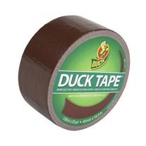 Duck Brand 1304965 Color Duct Tape, Brown, 1.88 Inches x 20