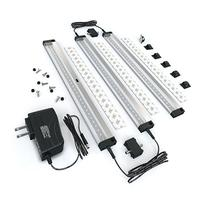 EShine 3 Panels LED Under Cabinet Lighting, with IR Sensor!