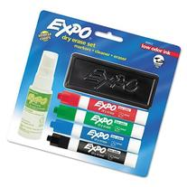 EXPO : Low Odor Dry Erase Marker Starter Set, Assorted, 4/