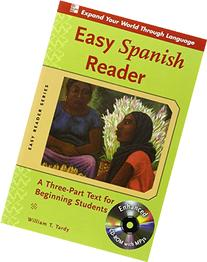 Easy Spanish Reader w/CD-ROM A Three-Part Text for Beginning