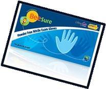 EcoBee Powder-Free Nitrile Exam Gloves Large Case