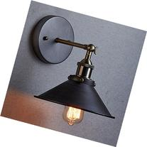 Industrial Hardwired & Plug-in Wall Sconce Light CLAXY