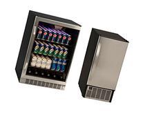 Edgestar 148 Can Stainless Steel Beverage Cooler & 45lb