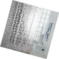 Eforgift Eco-friendly 12 Gauge PVC Shower Curtains Mildew