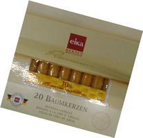 Eika 10 Percent Beeswax Tree Candles, 10.5-cm