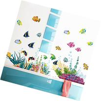 ElecMotive Ocean Wall Stickers for Under the Sea Theme Fish