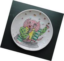 Elephant Yoga Plate