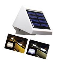 Elinkume Cool white 4LED Solar Powered Light Control