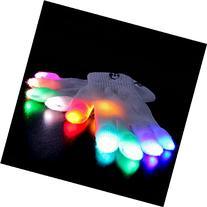 Emazing Lights eLite Chroma CTRL LED Gloves, 5 Light