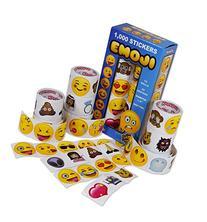 Emoji Universe: Mega Sticker Assortment, 1000 Unique Emoji
