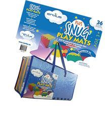EnviUs Snug Plus Play Mat Rainbow 36: Formamide Free Ultra