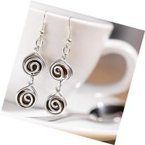Espresso Bean Earrings For Coffee Lovers And Baristas: