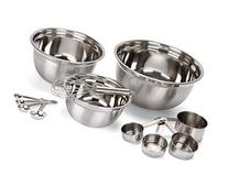 Estilo 12 Piece Stainless Steel Mixing Bowls, Includes
