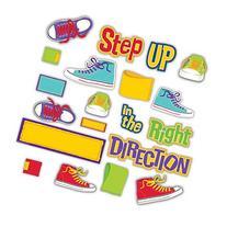 Eureka Step in The Right Direction Mini Bulletin Board Set
