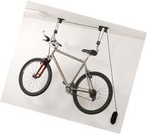 Evelots Ceiling Mounted Bike Lift, Garage, Storage, Home &