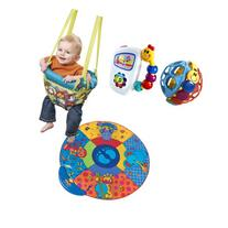 Evenflo Johnny Jump Up Doorway Jumper with Musical Mat &