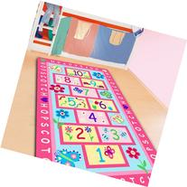 FADFAY Home Textile,Fashion Hopscotch Kids Carpet Bedroom,
