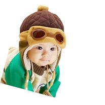 FEITONG® Cute New kids Infant Girls Boys Beanie Pilot
