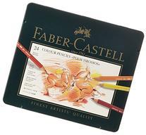 Faber-Castel 24 Piece Polychromous Colored Pencil Set In