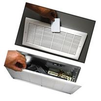 Fake Air Vent Electronic Diversion Wall Gun Safe with RFID