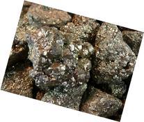"""Fantasia Materials: 1 lb Medium Pyrite """"A"""" Grade Rough - 1"""""""