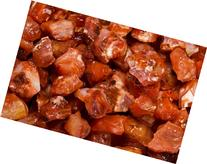 "Fantasia Materials: 1 lb Red Carnelian ""AA"" Grade Rough"