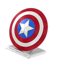 Fascinations Metal Earth Marvel Captain America's Shield 3D