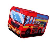 Fire Engine Truck Pop-up Play Tent Kids Pretend Vehicle by
