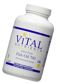 Vital Nutrients, Ultra Pure Fish Oil 700 120 softgel