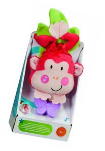 Fisher-Price Discover n' Grow Musical Crib Pull Down, Monkey