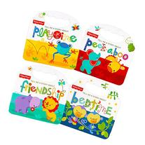 "Fisher Price ""My First Books"" Set of 4 Baby Toddler Board"