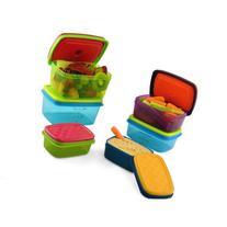 Fit & Fresh Kids' Healthy Lunch Set, 14-Piece Value Reusable