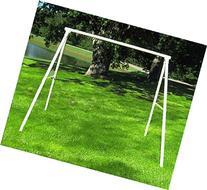 Flexible Flyer Lawn Swing Frame , Black