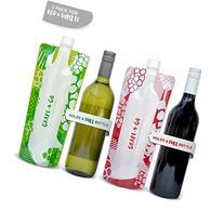Camoflask Flexible Collapsible Plastic Wine Bottle - Twin