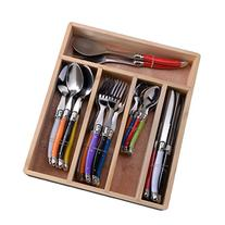 Flying Colors Laguiole Stainless Steel Flatware Set.
