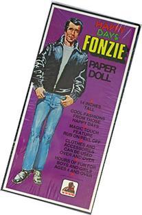 Fonzie Happy Days Paper Doll