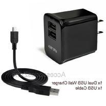 "For DigiLand DL1010Q 10.1"" / DL 7 DL700D 7"" Tablet Dual USB"