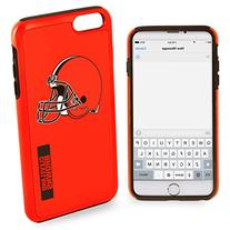 Forever Collectibles - Licensed NFL Cell Phone Case for Apple iPhone 6/6s Plus - Retail Packaging - Cleveland Browns